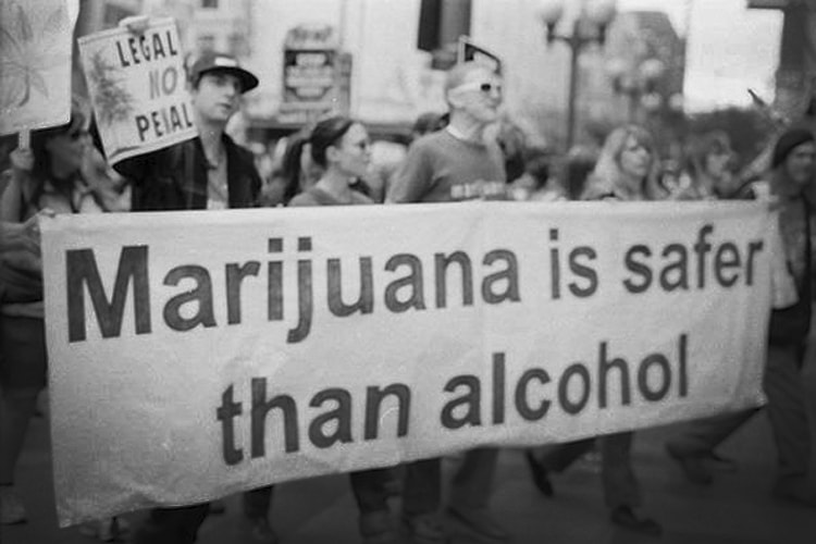 Alcohol is more of a gateway drug than marijuana