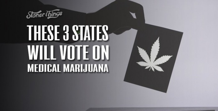 Medical marijuana states vote