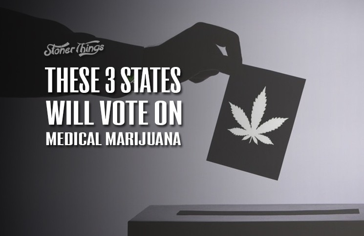 Medical marijuana states vote