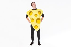 DIY Cheese costume
