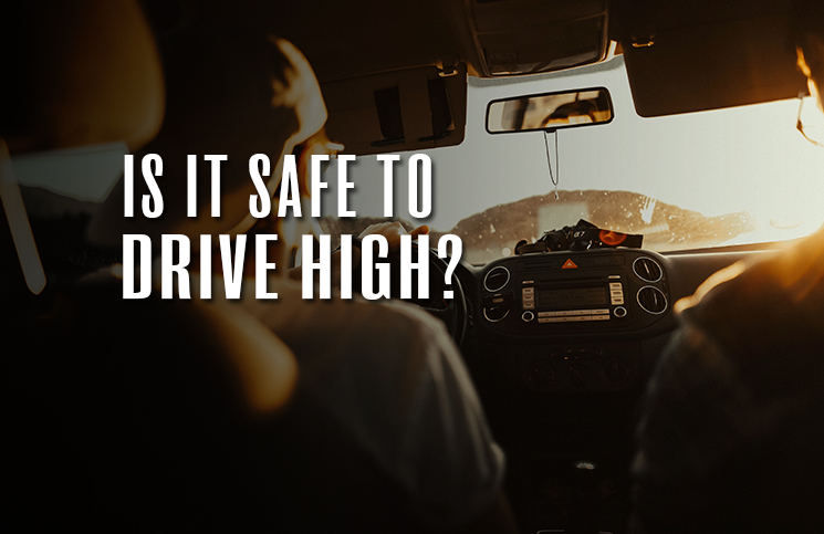 driving while high