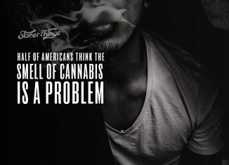 smell cannabis problem