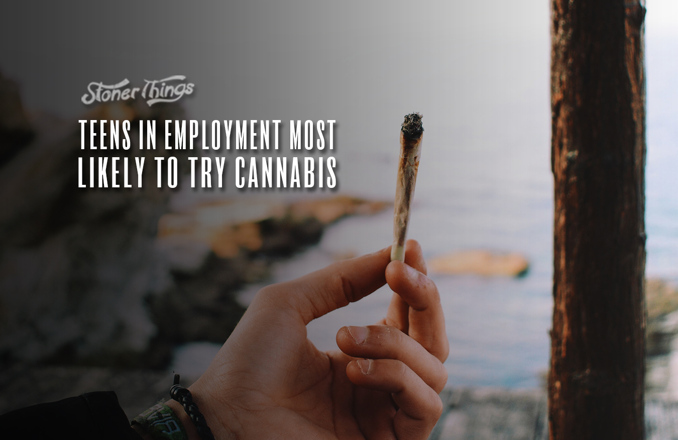 Teens In Employment Most Likely To Try Cannabis
