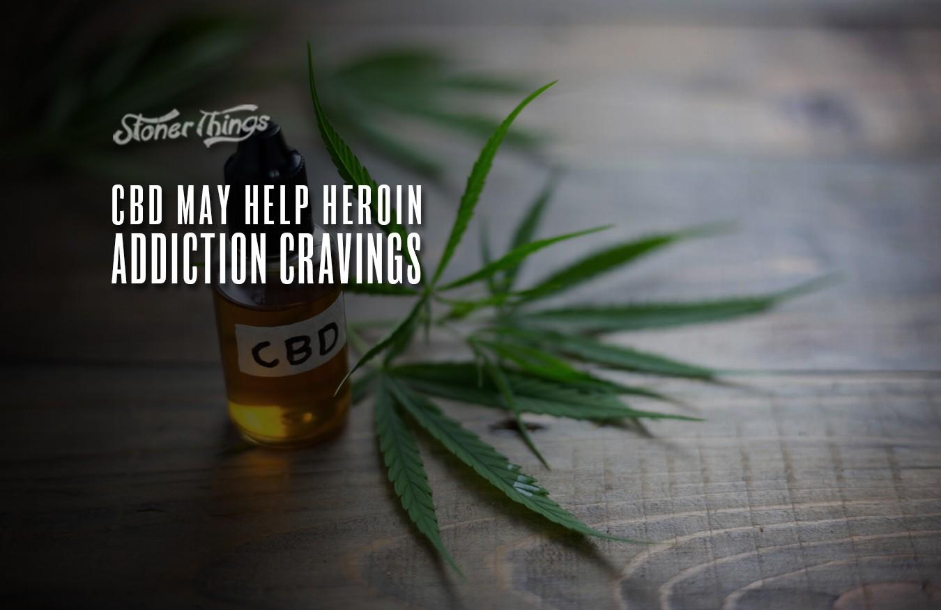 cbd heroin addiction cravings