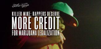 killer mike rappers deserve more credit for legalization