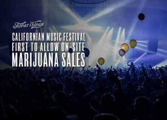 music festival weed sales