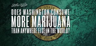 washington consume most marijuana