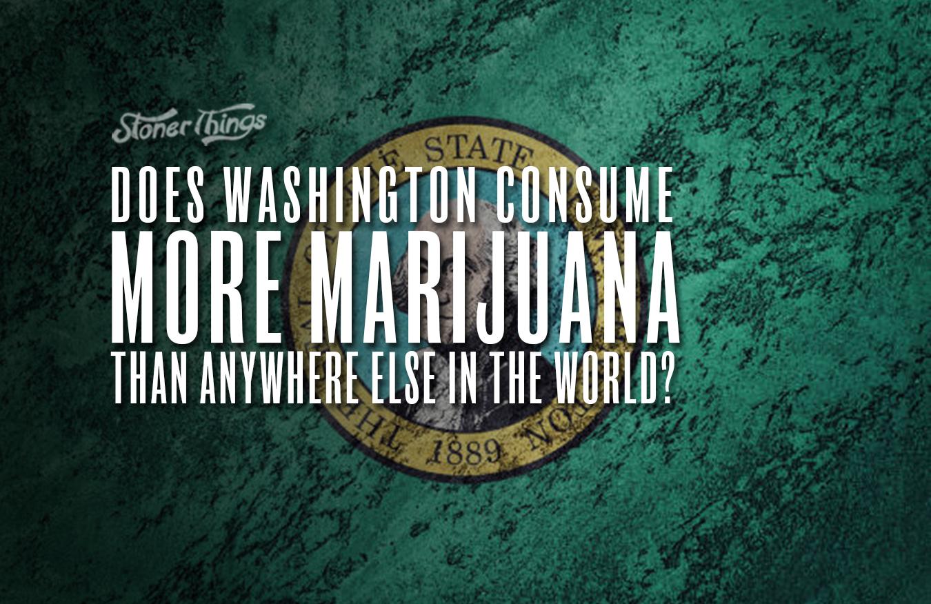 washington consume most marijuana