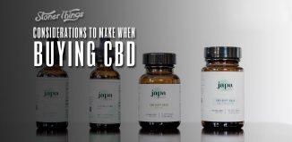 buying cbd considerations to make