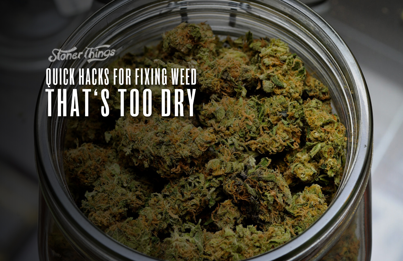 how to freshen dry weed