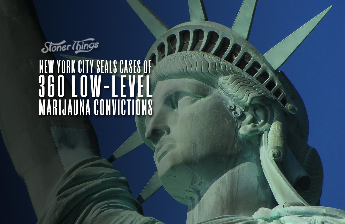 new york city seals 360 marijuana convictions
