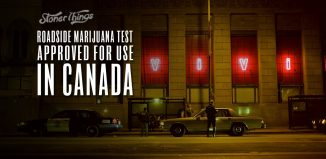 roadside marijuana test approved canada