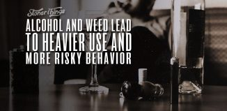 alcohol cannabis heavy use risky behavior