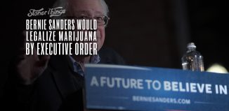 bernie sanders would legalize marijuana by executive order