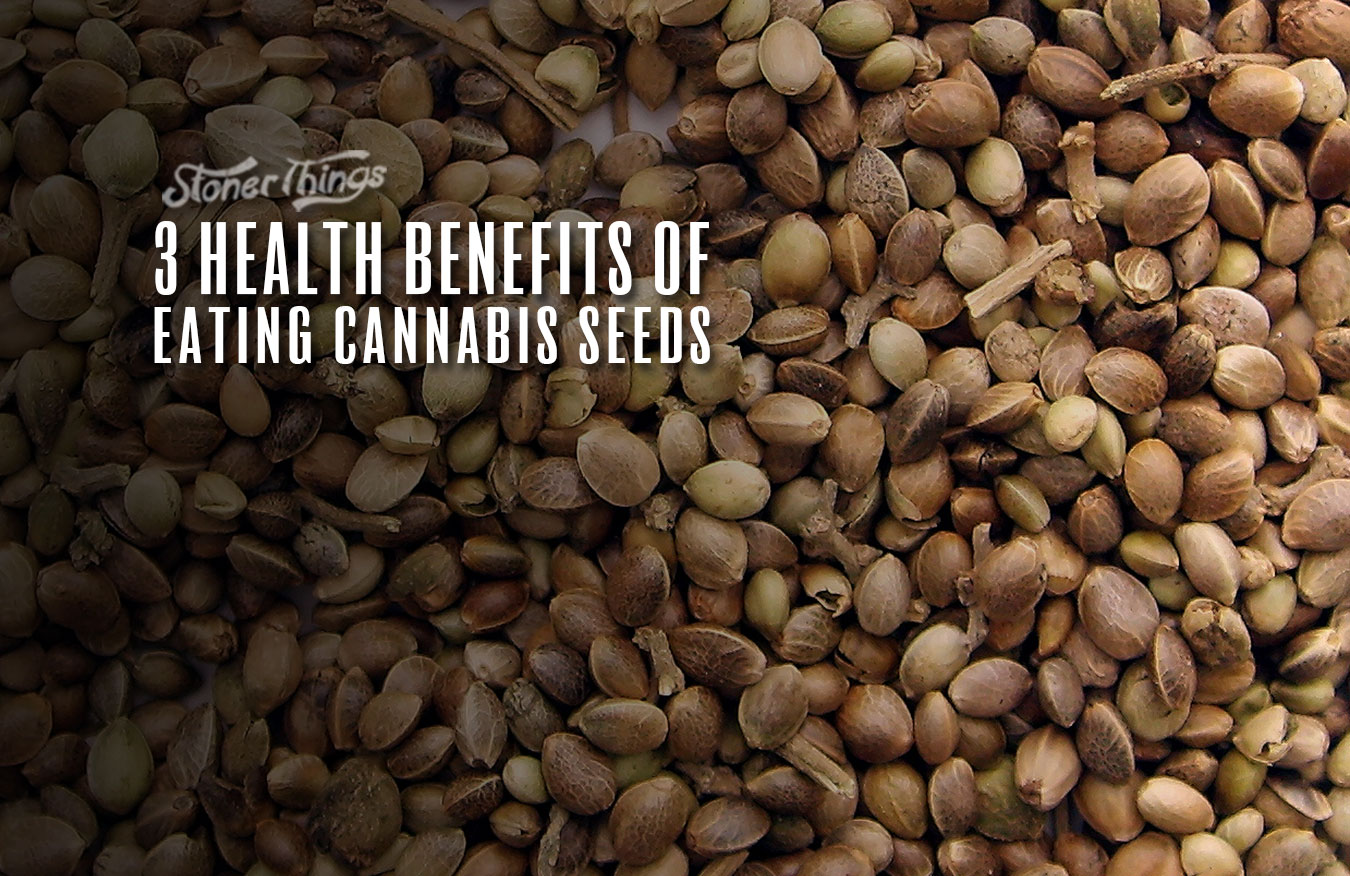 health benefits eating cannabis seeds