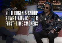 seth rogen snoop dogg advice first time smokers