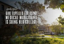 girl expelled medical marijuana suing college