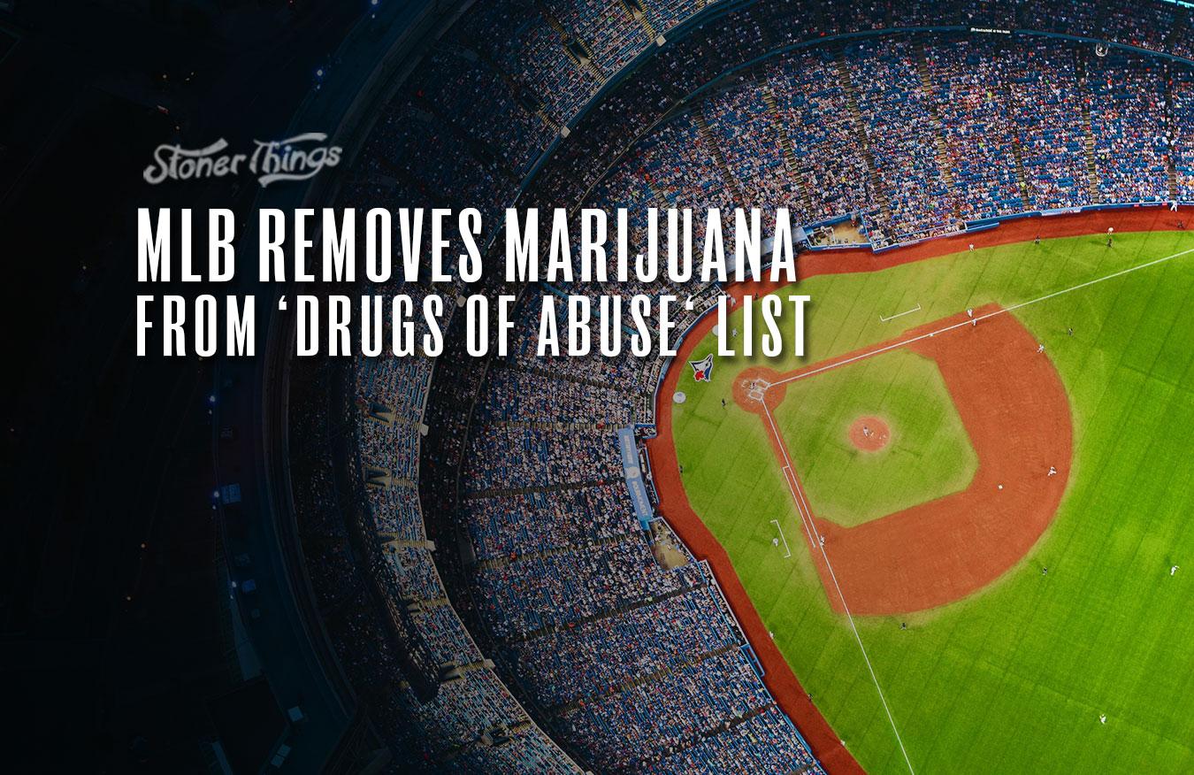MLB removes marijuana drugs of abuse list