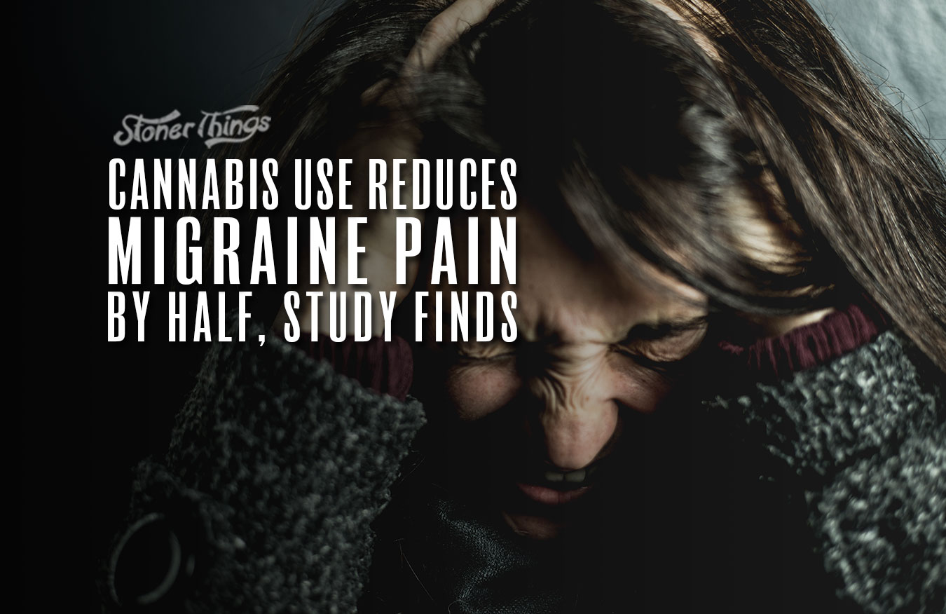 Cannabis Use Reduces Migraine Pain by Half, Study Reveals