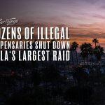 la illegal dispensary raid