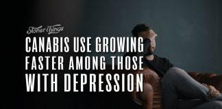 cannabis use growing depression