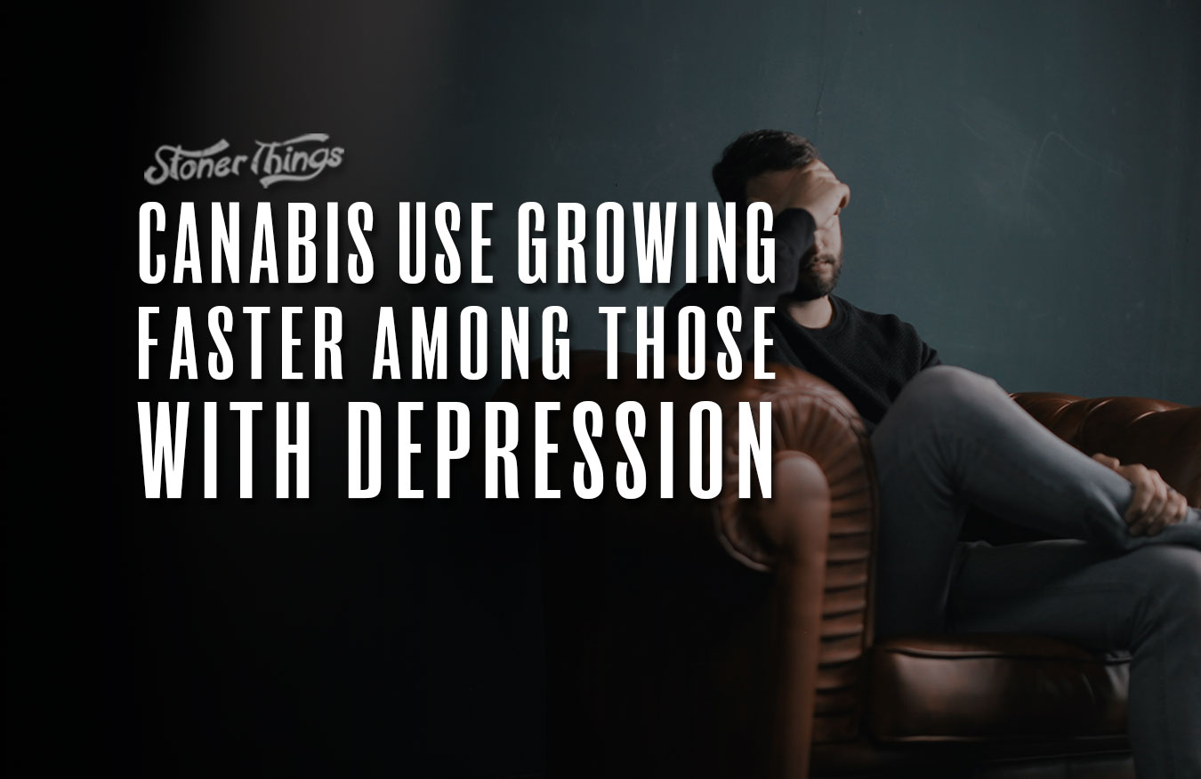 cannabis use growing depression