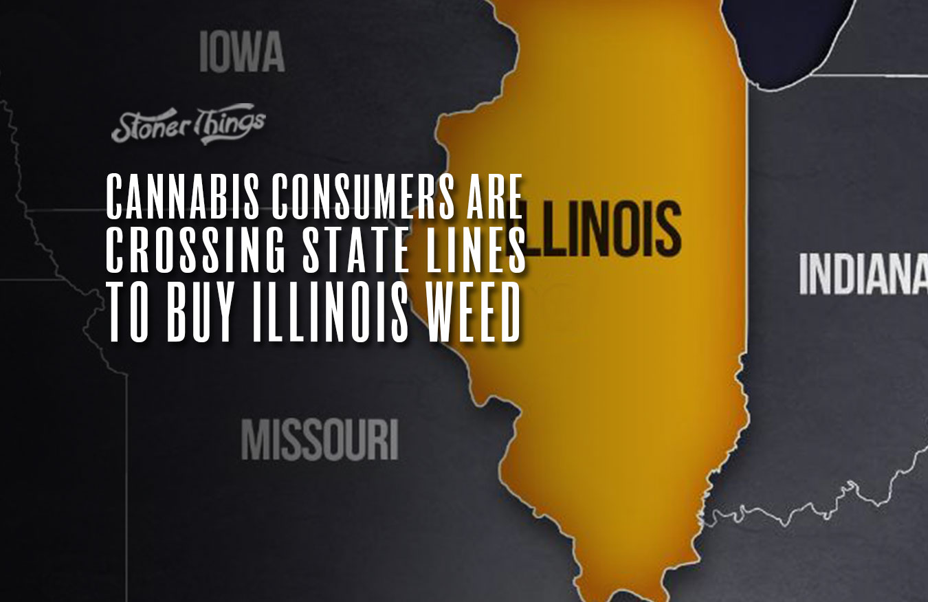 crossing state lines buy illinois weed