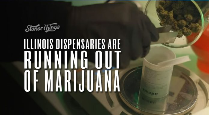 illinois dispensaries running out of weed