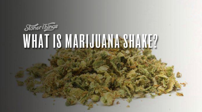 marijuana shake