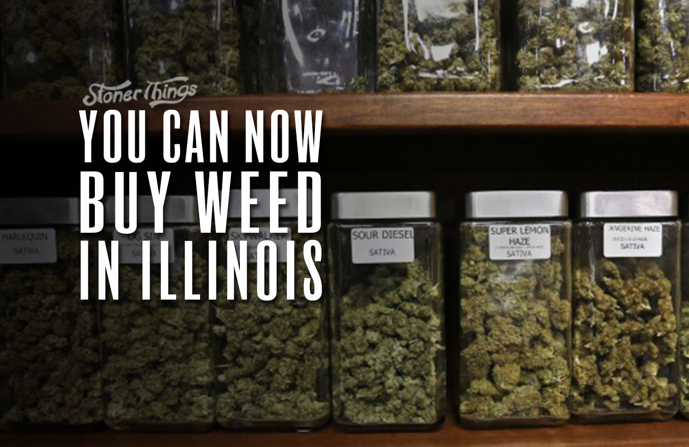 weed legal illinois