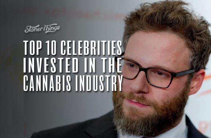 celebrities invest cannabis industry