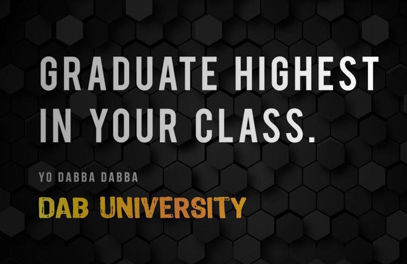 dab university yo dabba dabba