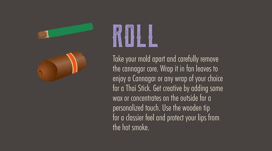 How to roll a cannagar