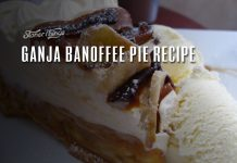ganja banoffee pie recipe