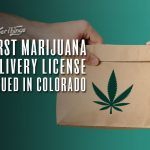marijuana delivery license issued colorado