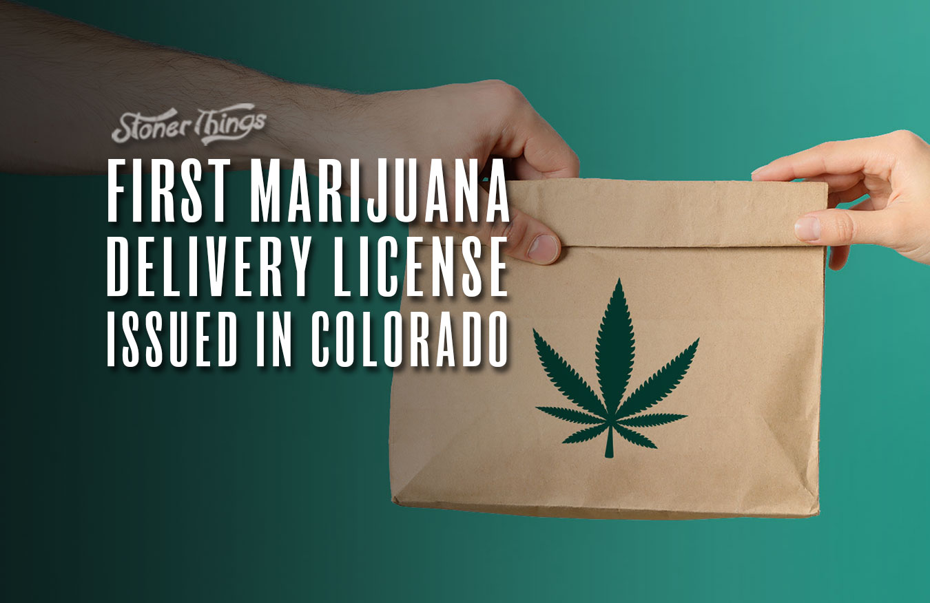 marijuana delivery license issued colorado