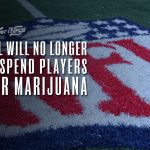 nfl no longer suspend players marijuana