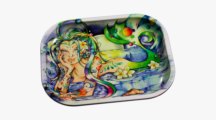 'Dark Shores' Rolling Tray