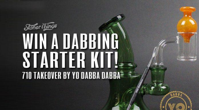 Win a dabbing starter kit Yo dabba dabba