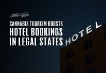 cannabis tourism increases hotel bookings