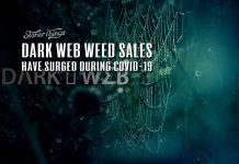 dark web weed sales pandemic