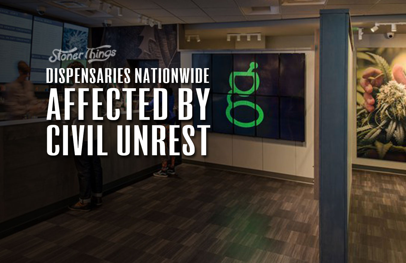 dispensaries affected by civil unrest