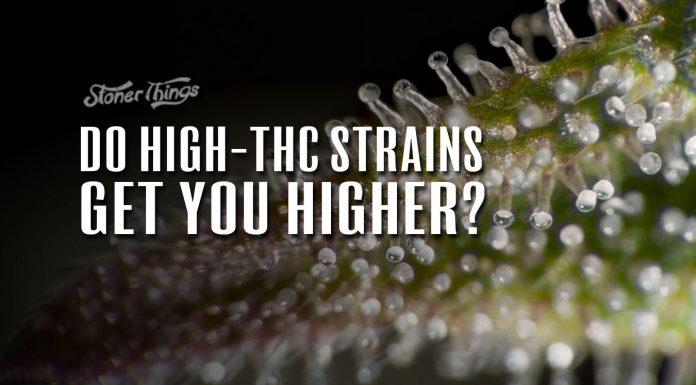 high thc strains dont get you higher