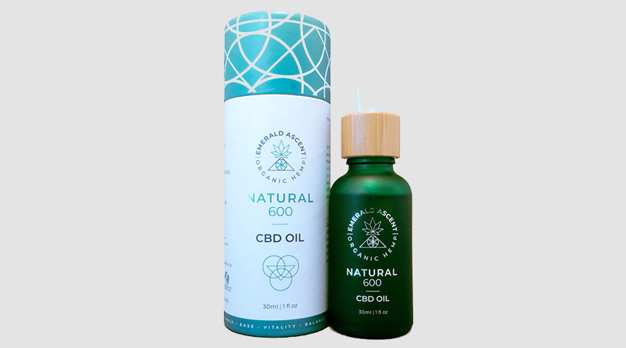 Emerald Ascent 600mg CBD Oil