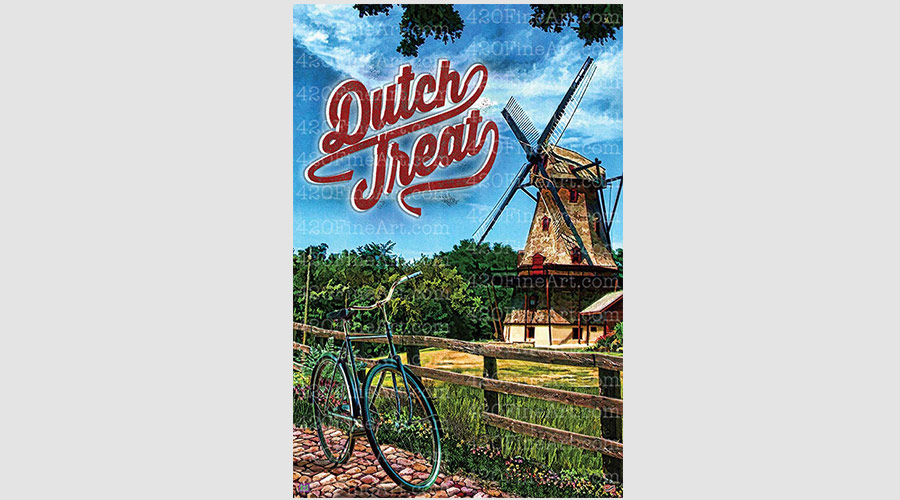 High Art Studios Dutch Treat Canvas Print