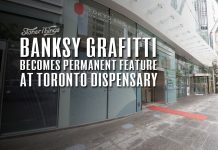 banksy art collection toronto dispensary toyko snmoke