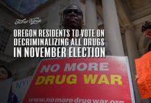 oregon vote decriminalizing all drugs november 2020