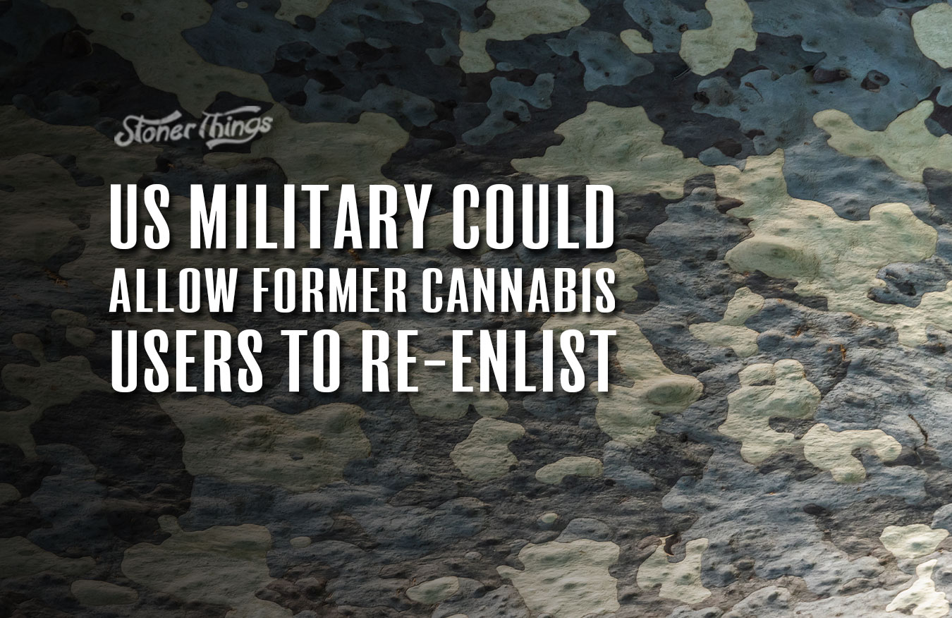 us military former cannabis users reenlist