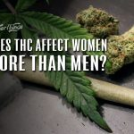 women vs men thc