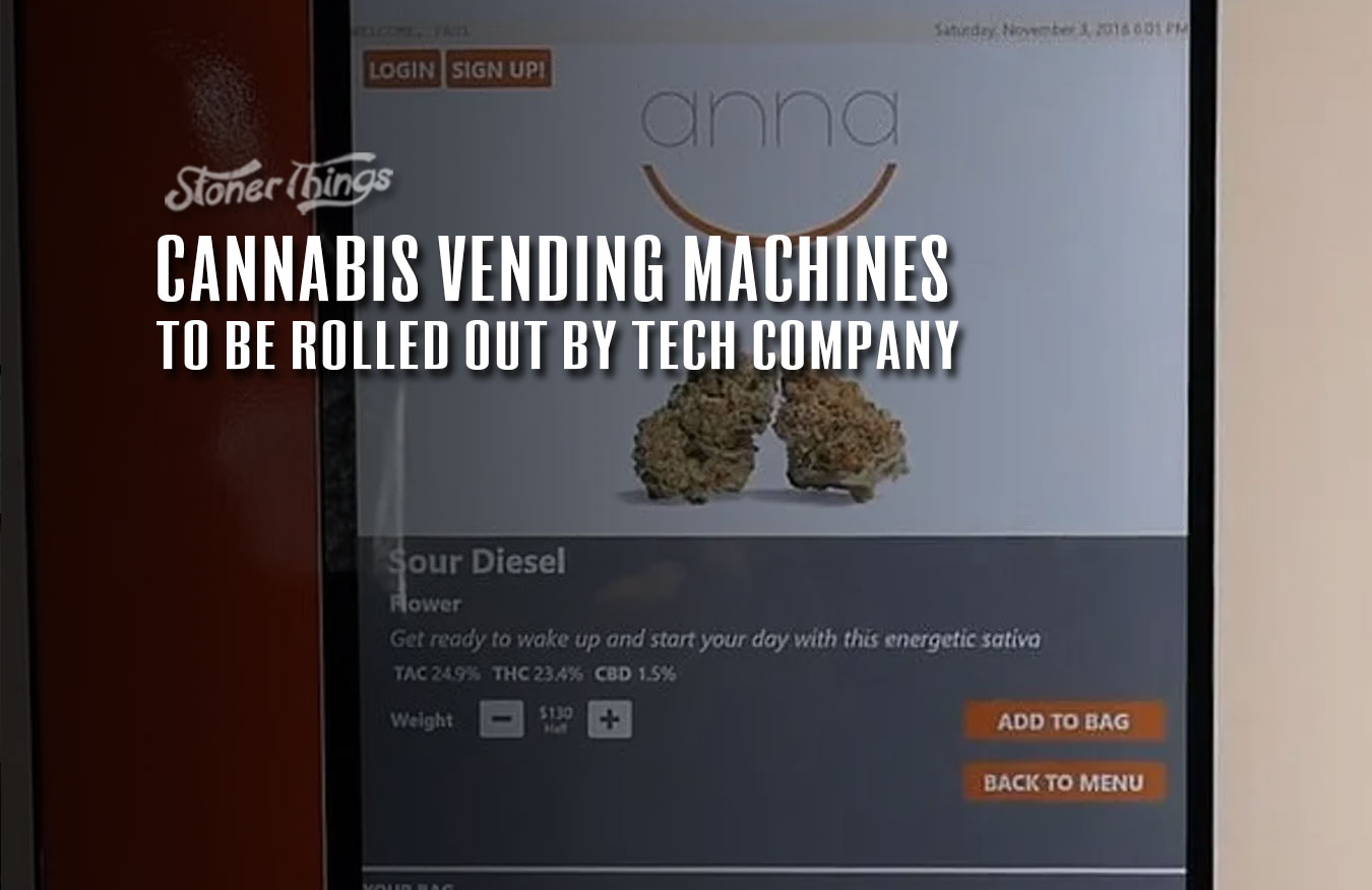 Cannabis vending machines